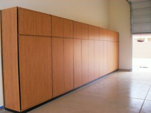 Install Garage Cabinets In Phoenix: Melamine Is The Answer